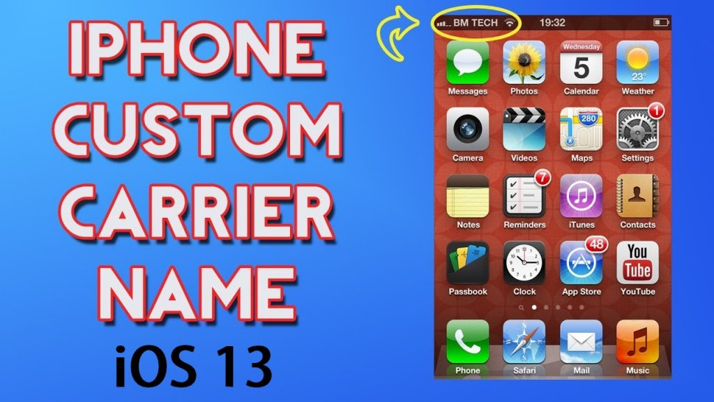 How to Change Carrier Name iOS 13