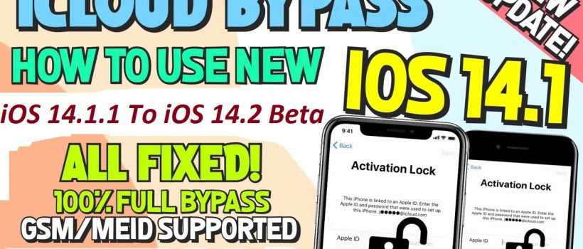 WINDOWS Fully Untethered iCloud Bypass iOS 14.1/ 14.2/ 14.2.1 Notifications Fixed! Baseband Fix , Bootloop restart, iCloud login Fixed! restart without PIN SIM notification