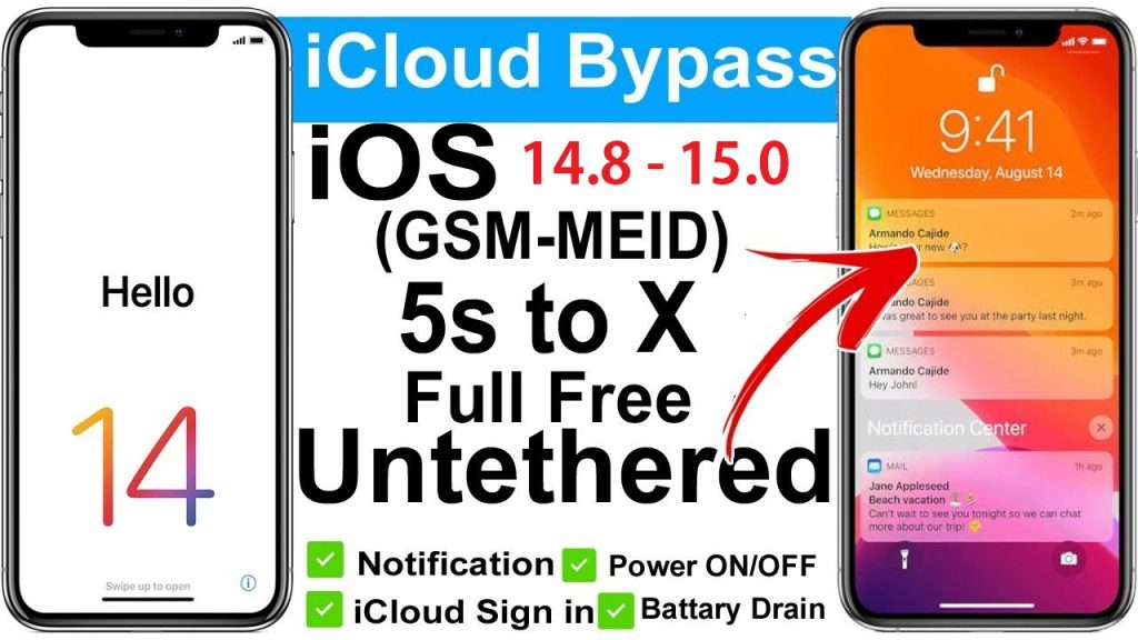 How to bypass iCloud iOS 14.8